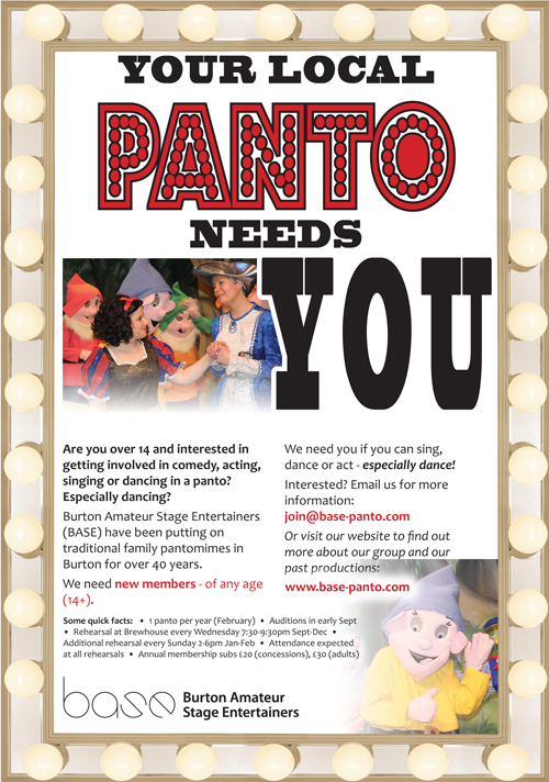 Your panto needs you!